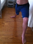 4-rth Eco-Track yoga pant for men - Royal Blue